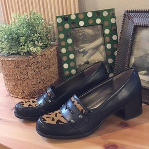 Naturalizer haircal & leather shoe